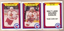 1991/92 Procards IHL Salt Lake Golden Eagles Team Set
