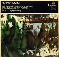VICS 1188 TOSCANINI respighi pines of rome/fountains of rome uk LP PS VG+/VG+