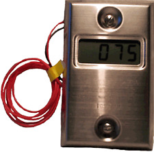 Panel wall mounted walk in Freezer Thermometer Check-It Electronics 0603