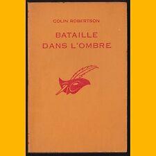 Collection Le Masque N° 816 BATAILLE DANS L'OMBRE Colin Robertson 1964