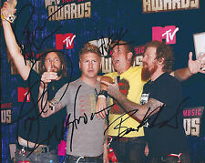 The Hunter MASTODON Band Signed Autographed 8x10 Photo PROOF! Troy Brent Bill ++