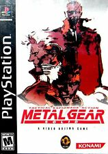 Metal Gear Solid Greatest Hits (Sony PlayStation 1, 1999)