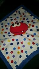 "GRACO Baby Monsters Security Soft Blanket! Lovey Adorable EUC 14"" X 14"" Elmo"