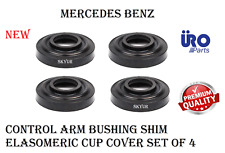 Control Arm Bushing Elasomeric Cup Cover Shim Set of 4 For Mercedes URO