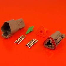 Deutsch DT Series 3 Pin Way Connector Male & Female Kit DT04-3P DT06-3S
