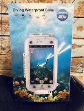Waterproof Underwater Diving Housing Case Apple iPhone X Photography Surf Ocean