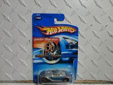 2006 Hot Wheels #144 Blue/Grey Bugatti Veyron w/FTE Wheels