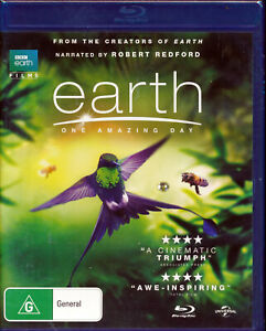 BBC Earth Films Earth One Amazing Day Blu-ray NEW Region B