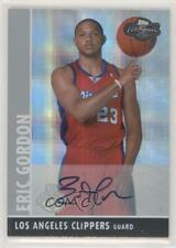 2008-09 Topps Co-Signers Silver Hyper /10 Eric Gordon #107 Rookie Auto