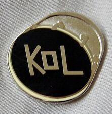 **NEW** Kings of Leon enamel KOL badge. Caleb Followill