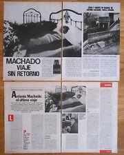 ANTONIO MACHADO colección prensa fotos revista spanish writer spanish clippings