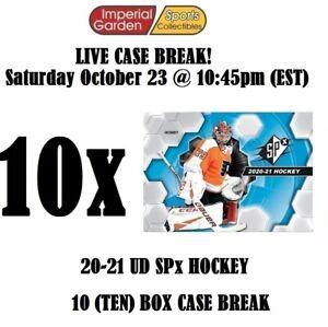 2020-21 UD SPX HOCKEY 10 BOX CASE BREAK #2763 - Philadelphia Flyers