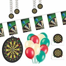 Darts Decoration Party Pack - Bunting - Danglers - Balloons - Centre Pieces