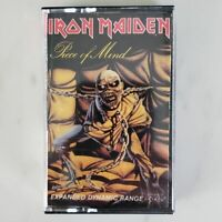 IRON MAIDEN - PIECE OF MIND - Cassette Tape - The Trooper - Flight of Icarus '83