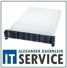 "2HE 19"" Gehäuse Chenbro RM23612 2U Rack Server ink 12G Backplane 12x HDD 2,5 3,5"