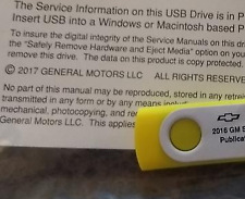 2016 GM Chevy Chevrolet CAMARO Service Shop Manual ON USB DRIVE NEW FACTORY