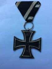 WW1 IMPERIAL GERMAN IRON CROSS MEDAL MAKERS MARK ON THE RING ORIGINAL