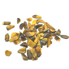Yellow Golden Tigers Eye Small Crystal Tumble Gemstone 20g Bundle Bags