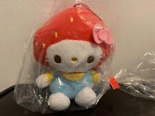 Sanrio Hello Kitty Strawberry Mascot Plush SEGA