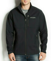 Columbia Men's 3XL Big & Tall Ascender Softshell Jacket, Black, $125, NwT