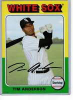 Tim Anderson 2019 Topps Archives 5x7 #183 /49 White Sox