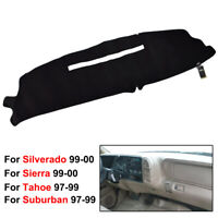 Xukey Dash mat For Chevrolet Silverado C/K K2500 1997 1998 Dashboard Cover Black