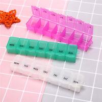 1pc 7 giorni settimanali Pillole settimanali Pillole per medicinali Custodi C qt