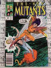 New Mutants (1983) Marvel - #55, Newsstand/UPC Variant, Simonson/Blevins, VF