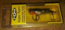 Storm Hopper Popper HP04 Phantom Black 1 3/4 in. Fishing tackle lure NIB