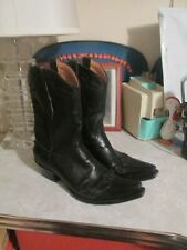 Old Gringo Women's  leather Boots Black  Size 8.5 B