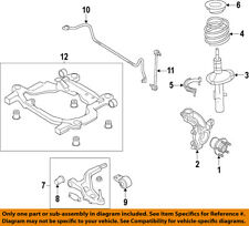 FORD OEM Front Suspension-Steering Knuckle Spindle DE9Z3K186A