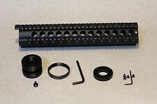 """12"""" free float quad rail Hand Guard w/ front end cap for Ruger RPR"""