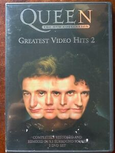 Queen Greatest Video Hits Vol.2 DVD Classic British Rock Music DTS 2-Discs