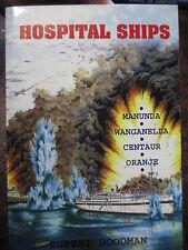 History Australia Hospital Ships Centaur Oranje Wanganella Manunda WW2 navy book
