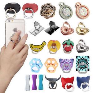 Handyhalter Ring 360°Rotation Halterungen Handyständer Fingerring für Smartphone