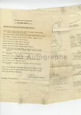 Montreal Police Department - Stolen Goods 1926 Circular - 3 Pages