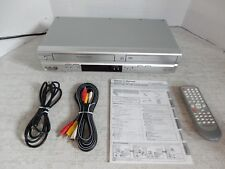 PRESIDIAN PDC-3286 VHS VCR Player Recorder and DVD Player Combo 4 Head Hi-Fi
