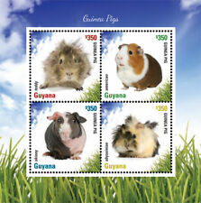 Guyana - 2014 - Guiana Pig -  Sheet Of 4 - MNH