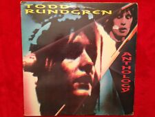 "Todd Rundgren   ""Anthology""   LPX2  1987  1ST  Raw LP 035  Rock  33rpm   UK   NM"