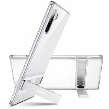 Samsung Galaxy Note 10 Metal Kickstand Case Reinforced Drop Protection Cover
