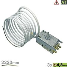 Ranco K57-L5818 Thermostat 3x4,8mm AMP 2220mm wie Liebherr 6151032 Miele 4501623