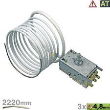Ranco K57-L5818 Thermostat 3x4,8mm AMP 2220mm wie Liebherr 6151032 Miele 4501623