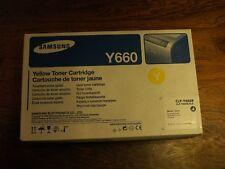 NEU Orginal Samsung Toner CartridgeGelb CLP-Y660B/ELS