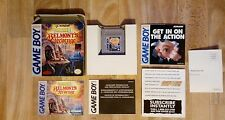 castlevania 2 belmont's revenge gameboy game boy complete usa