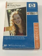 HP Premium GLOSSY 4X6 Ink Jet Picture Photo Paper 100 SHEETS 10mil