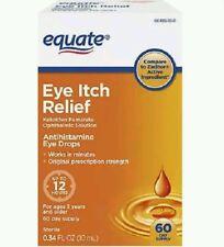 Equate Eye Itch Relief 0.34 Fl Oz 60 Days Supply
