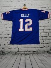 JIM KELLY autographed signed pro style blue Jersey JSA Witness