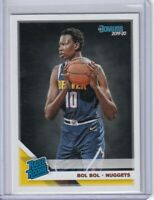 2019-20 Donruss Rated Rookie Bol Bol Denver Nuggets RC Rookie Card #234