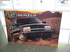 2001 Chevrolet Blazer 4 Door  Dealer Showroom Sign Poster Original 23x15