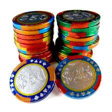 Milk Chocolate  Casino Chips Coins 2-lbs -  kosher